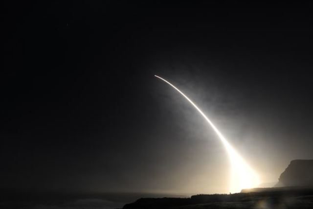 USA spy satellite launched from California