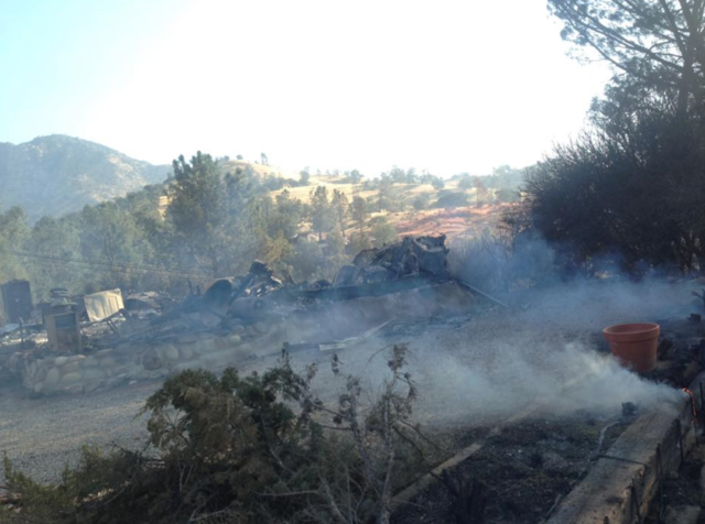 Brush Fire Near Lake Isabella Prompts Mandatory Evacuations, Destroys Five Homes