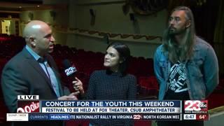 Human trafficking awareness concert on Friday