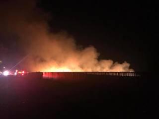 BFD battling grass fire in NE