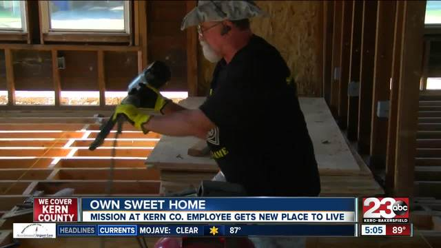 Man gets his dream home with the help of a local organization