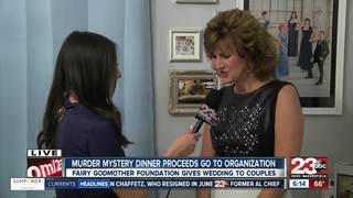 'Murder Mystery' event, proceeds go to wedding