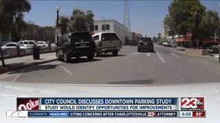 City Council discussing parking in downtown