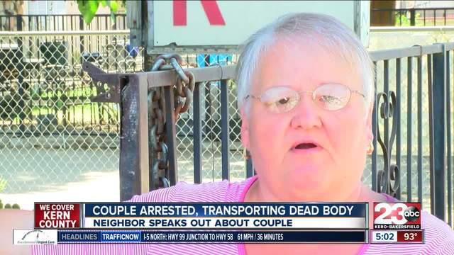Neigbor speaks out after recognizing two people arrested
