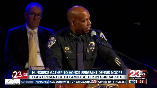 BPD Sgt- Moore-s memorial service