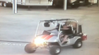 KCSO: suspect steals golf cart in Oildale