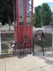 H.A.L.T. Animal Rescue phone booth stolen