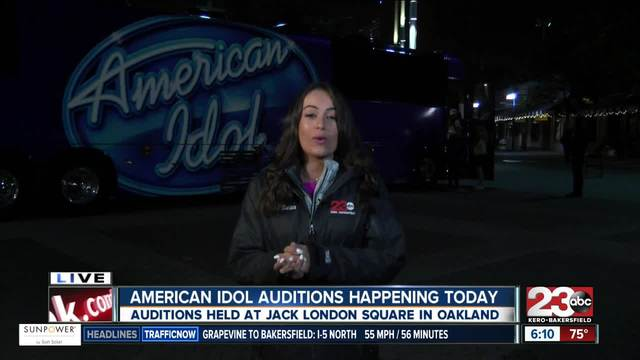 Local residents try out in Oakland American Idol auditions