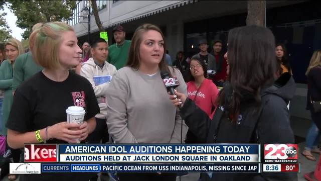 American Idol auditions held in Oakland
