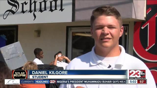 Bethel Christian School has Star Wars visitors during solar eclipse