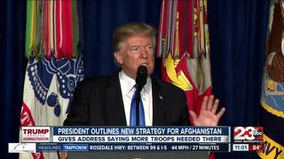 Trump announces new plans for Afghanistan