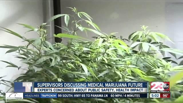 Kern County considering medical marijuana cultivation regulations