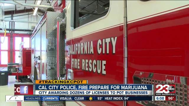 Cal City police- fire prepare for incoming medical marijuana cultivation…