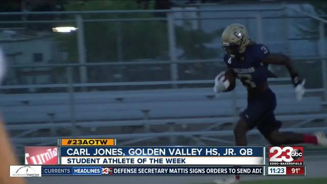 Male athlete of the week- Carl Jones