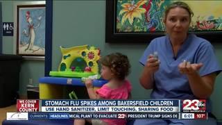 Stomach flu spikes among Bakersfield children