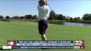 Free golf and lunch for Veterans at Riverlakes
