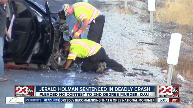 Jerald Holman sentenced in deadly crash