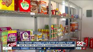 CSUB Food Pantry opens to limit food insecurity