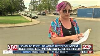 Mom upset over school's handling of autistic son