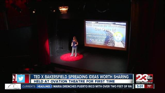 TedX Bakersfield was held at Ovation Theater bringing the community…