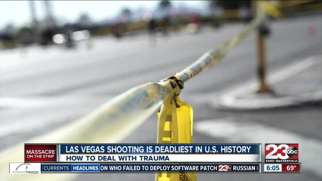 Clinical psychologist one of first responders in Las Vegas shooting-…