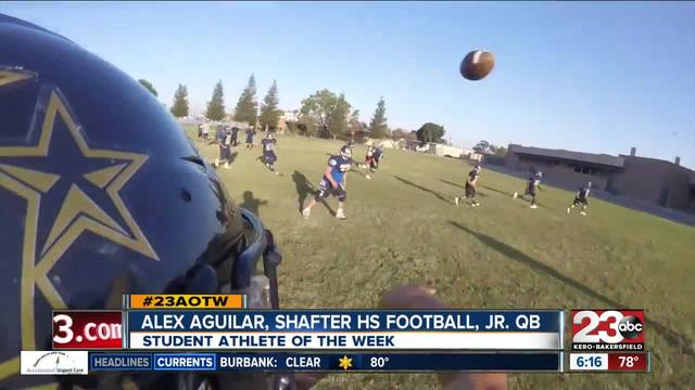 Male Athlete of the Week- Alex Aguilar