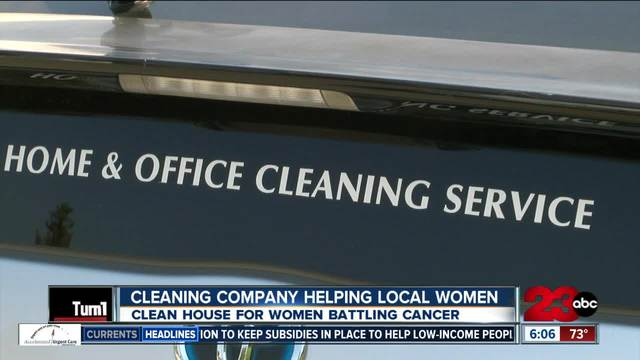 Local cleaning company offers free cleaning services to local women…