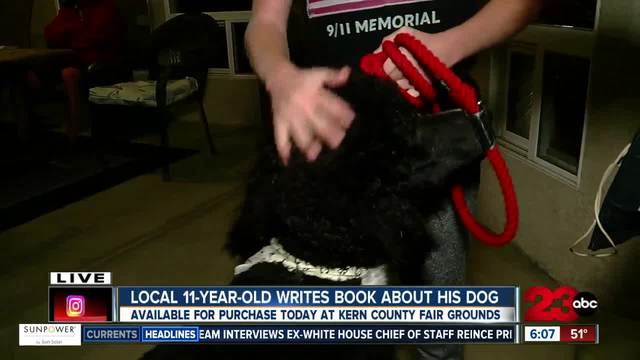 Local 11-year-old writes a book about all different types of poodles