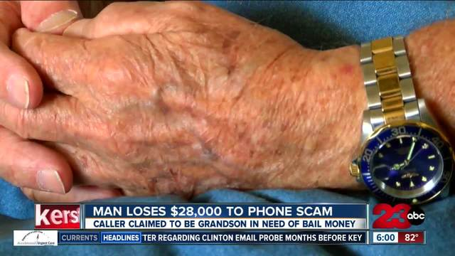 96-year-old scammed out of -28-000