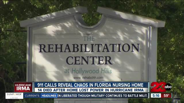 14 people died after nursing home loses power post- Hurricane Irma