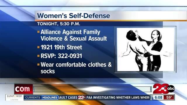 Free women-s self-defense class
