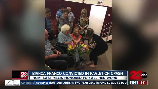 Bianca Franco convicted in Pavletich crash