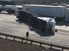 Semi crash on highway 99 near White Lane