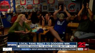 Local fans thrilled Dodgers head to World Series