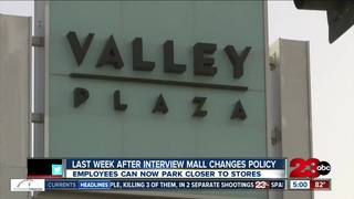 Changes to mall parking made after complaint