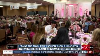 Paint the town pink event today