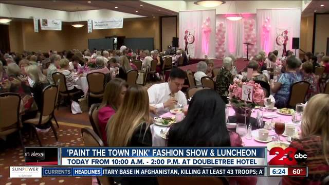 -Paint the town pink- fashion show