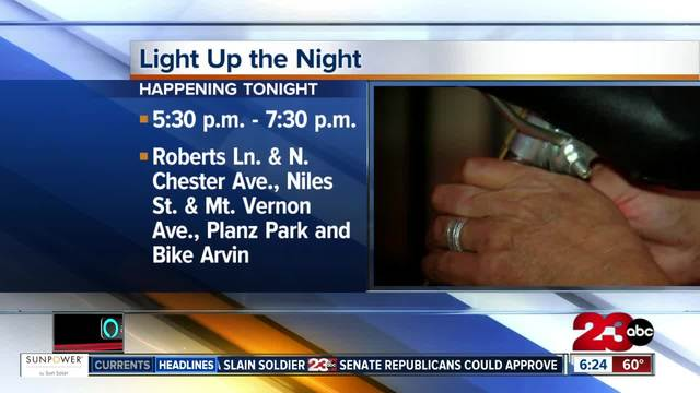 Light up the night event