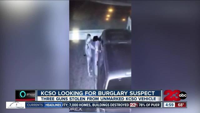 KCSO looking for burglary suspect