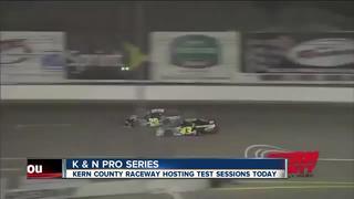 Kern County Raceway hosting testing sessions