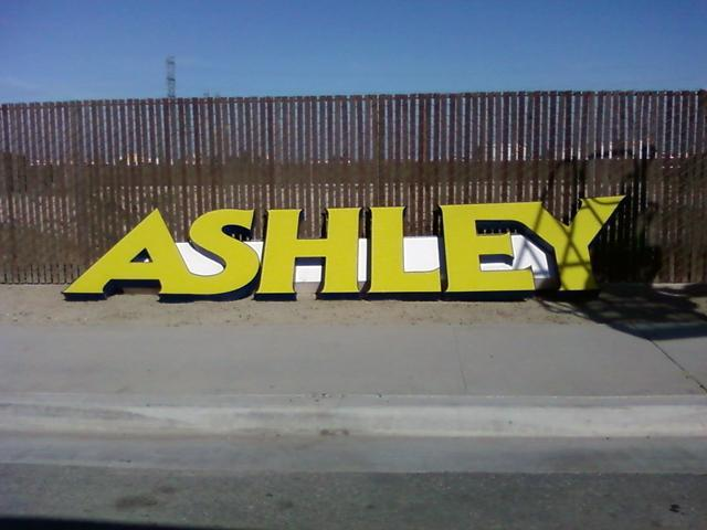 Bakersfield Ashley Furniture Signs Have Come Down