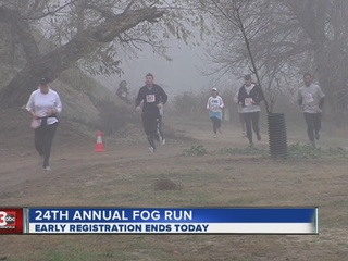 29TH annual Fog Run set for Saturday