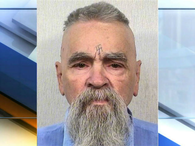 Charles Manson back in California prison after hospital stay