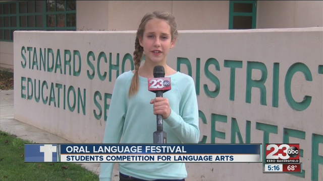 Middle school students compete in Kern County Oral Language Festival