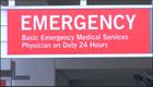 Emergency room visits rise last week