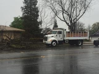 PHOTOS: Rain, wind arrive in Kern County