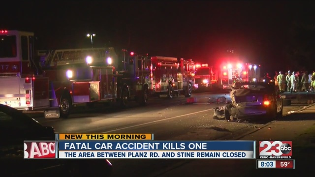 car accident news  Fatal car accident in south Bakersfield kills at least one person ...