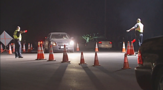 BPD holding DUI, driver's license checkpoint