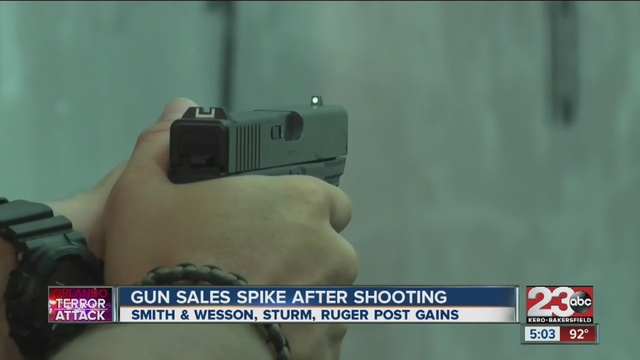 second amendment sports says customers came to store looking