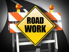 Nighttime lane closures for Truxtun Avenue
